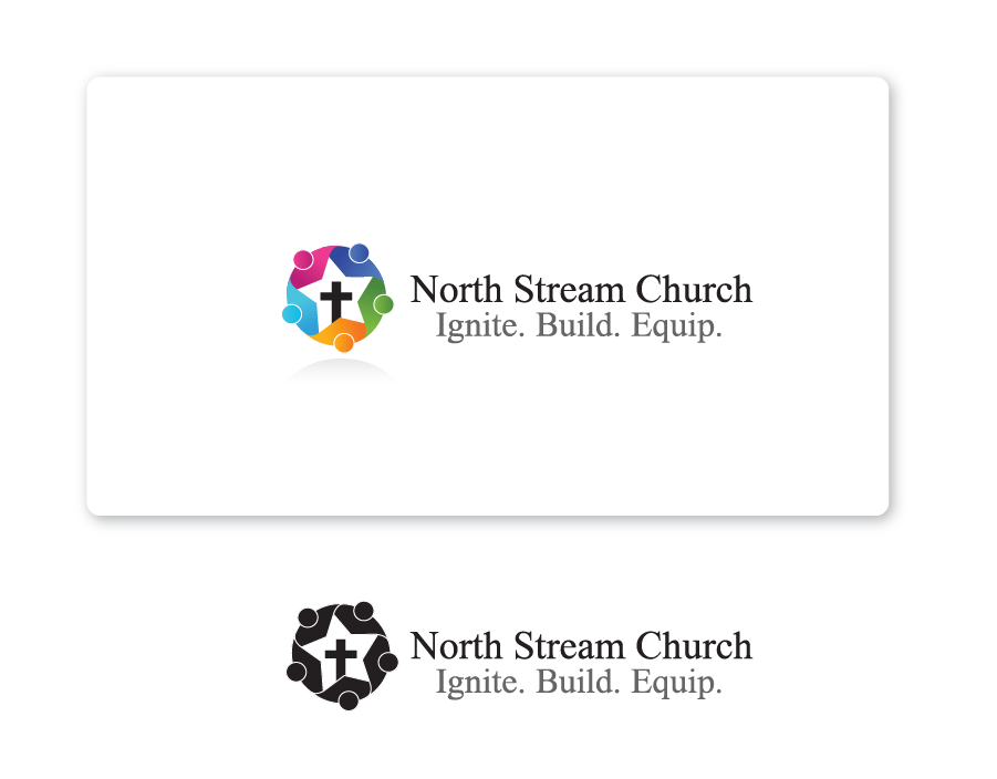 Logo Design by Private User - Entry No. 8 in the Logo Design Contest Creative Logo Design for North Stream Church.