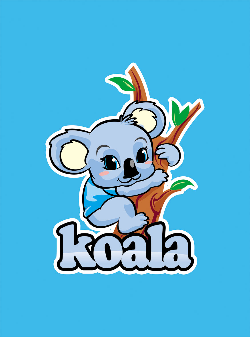 "Logo Design by Respati Himawan - Entry No. 71 in the Logo Design Contest Imaginative Logo Design for ""Koala""."