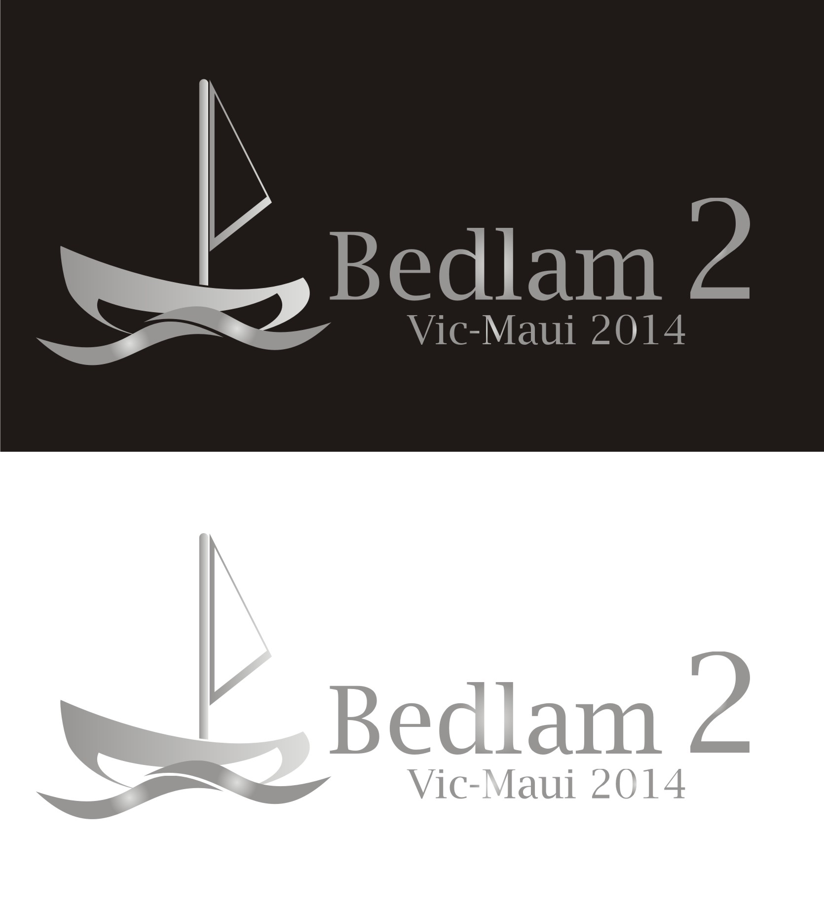 Logo Design by Yuda Hermawan - Entry No. 34 in the Logo Design Contest Artistic Logo Design for Bedlam 2  Vic-Maui 2014.