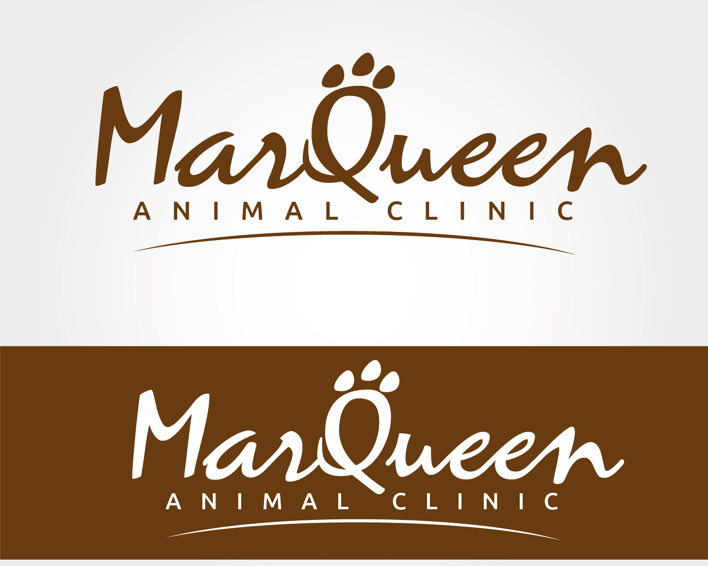 Logo Design by VENTSISLAV KOVACHEV - Entry No. 9 in the Logo Design Contest Fun Logo Design for MarQueen Animal Clinic.