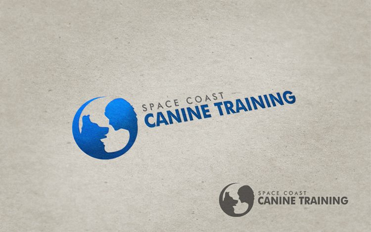 Logo Design by Respati Himawan - Entry No. 36 in the Logo Design Contest Creative Logo Design for Space Coast Canine Training.