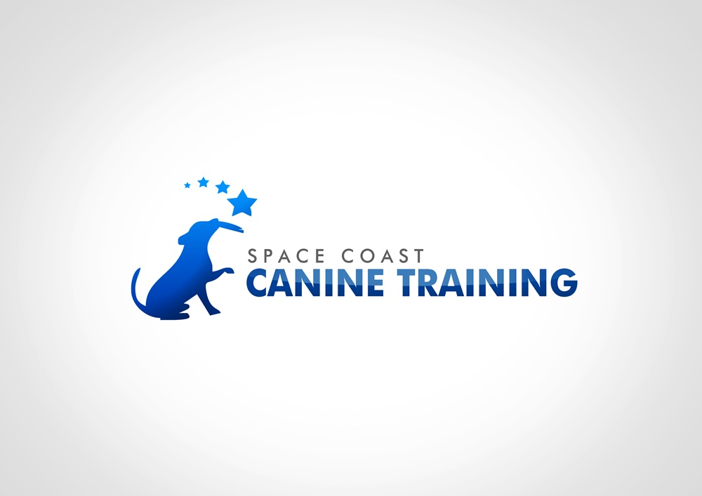 Logo Design by Respati Himawan - Entry No. 37 in the Logo Design Contest Creative Logo Design for Space Coast Canine Training.