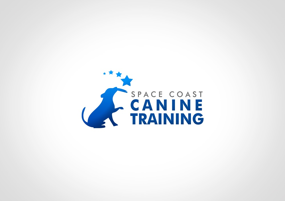 Logo Design by Respati Himawan - Entry No. 38 in the Logo Design Contest Creative Logo Design for Space Coast Canine Training.