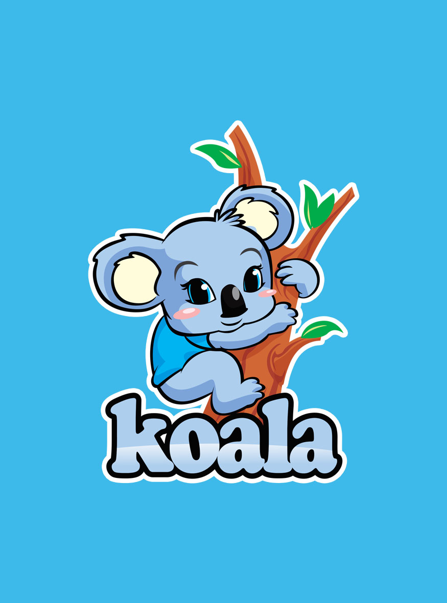 "Logo Design by Respati Himawan - Entry No. 75 in the Logo Design Contest Imaginative Logo Design for ""Koala""."