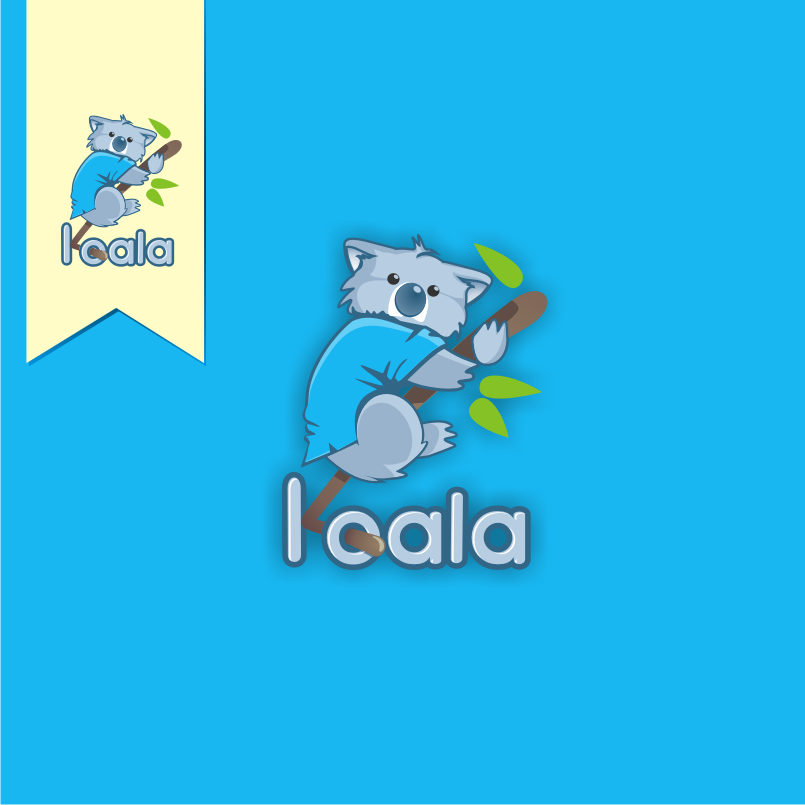 "Logo Design by graphicleaf - Entry No. 76 in the Logo Design Contest Imaginative Logo Design for ""Koala""."