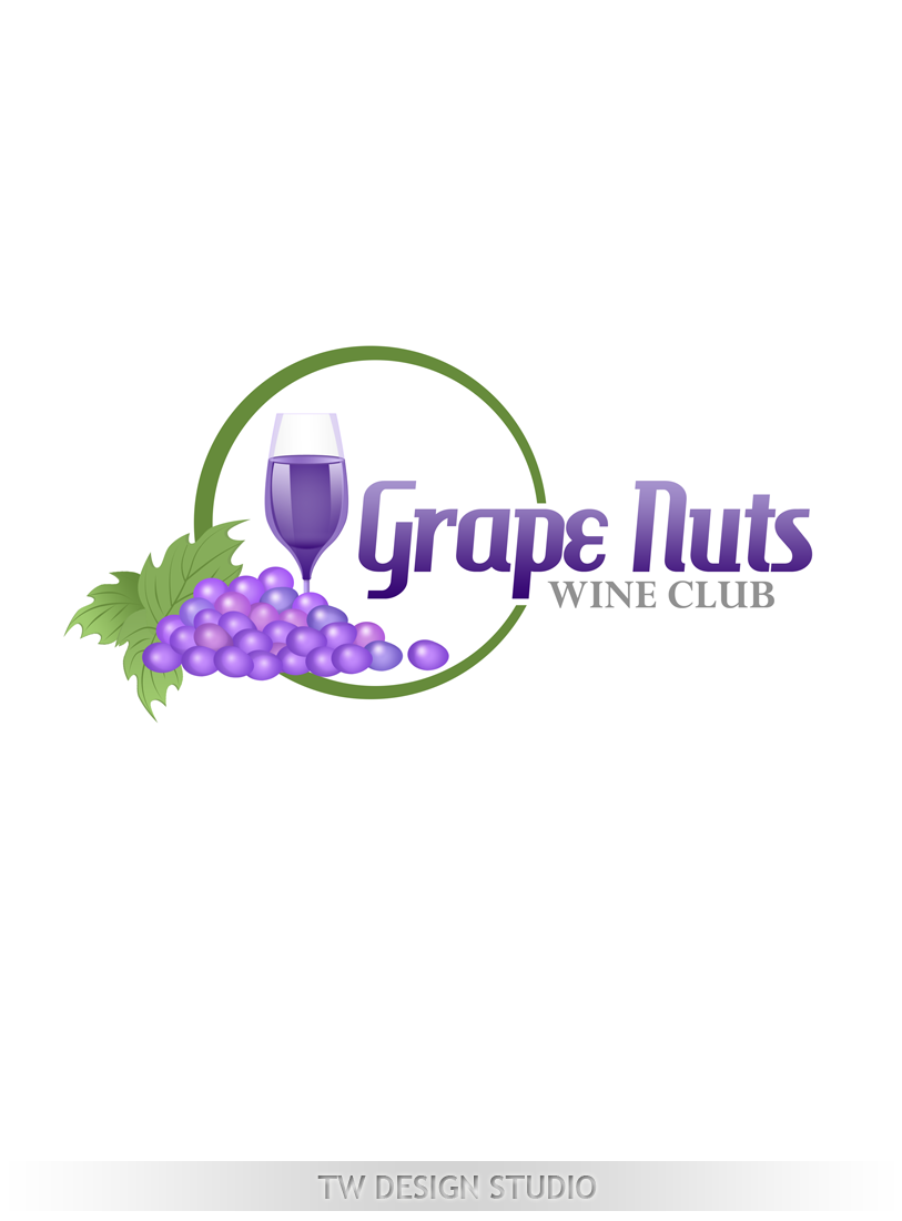 Logo Design by Private User - Entry No. 72 in the Logo Design Contest Artistic Logo Design for Grape Nuts Wine Club.