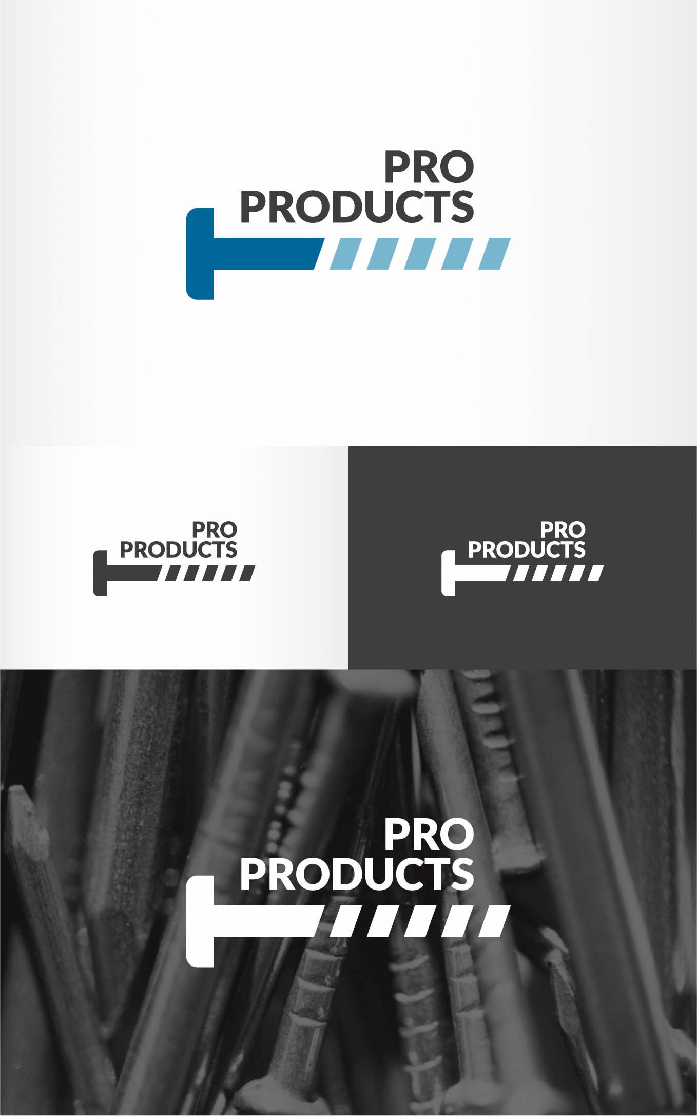 Logo Design by Andrés González - Entry No. 78 in the Logo Design Contest Fun yet Professional Logo Design for ProProducts.