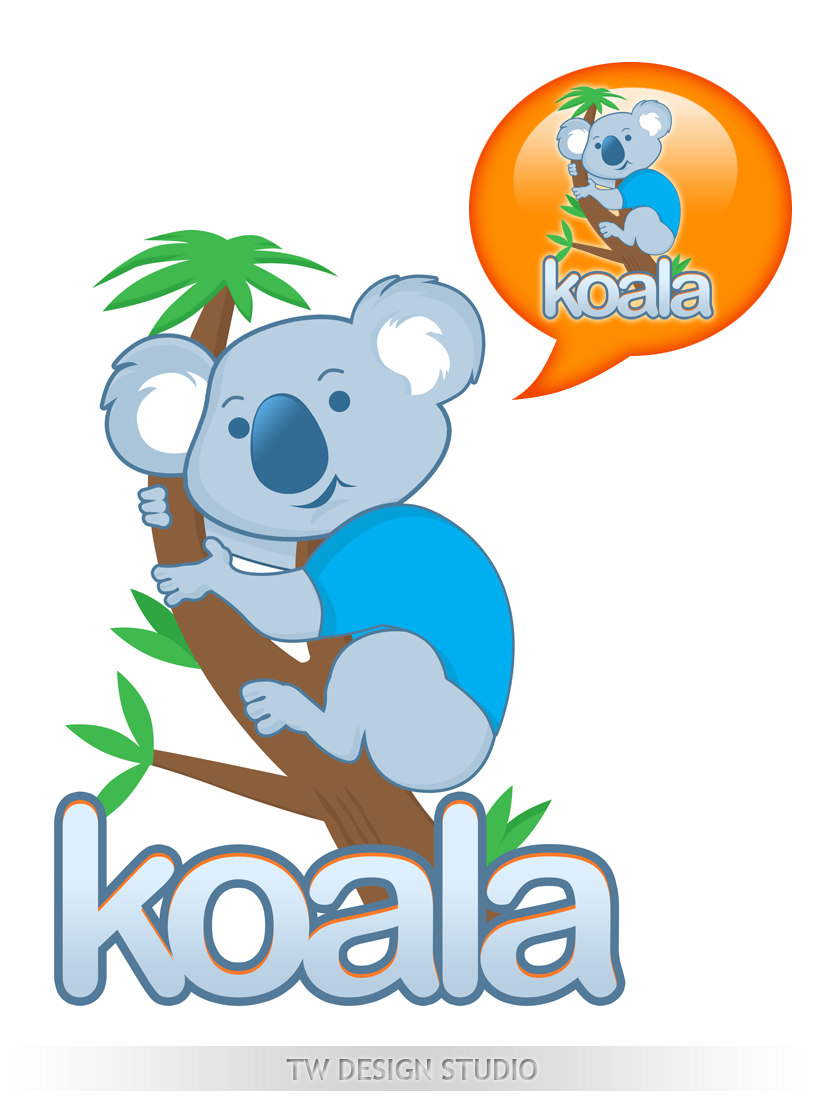 "Logo Design by Private User - Entry No. 78 in the Logo Design Contest Imaginative Logo Design for ""Koala""."