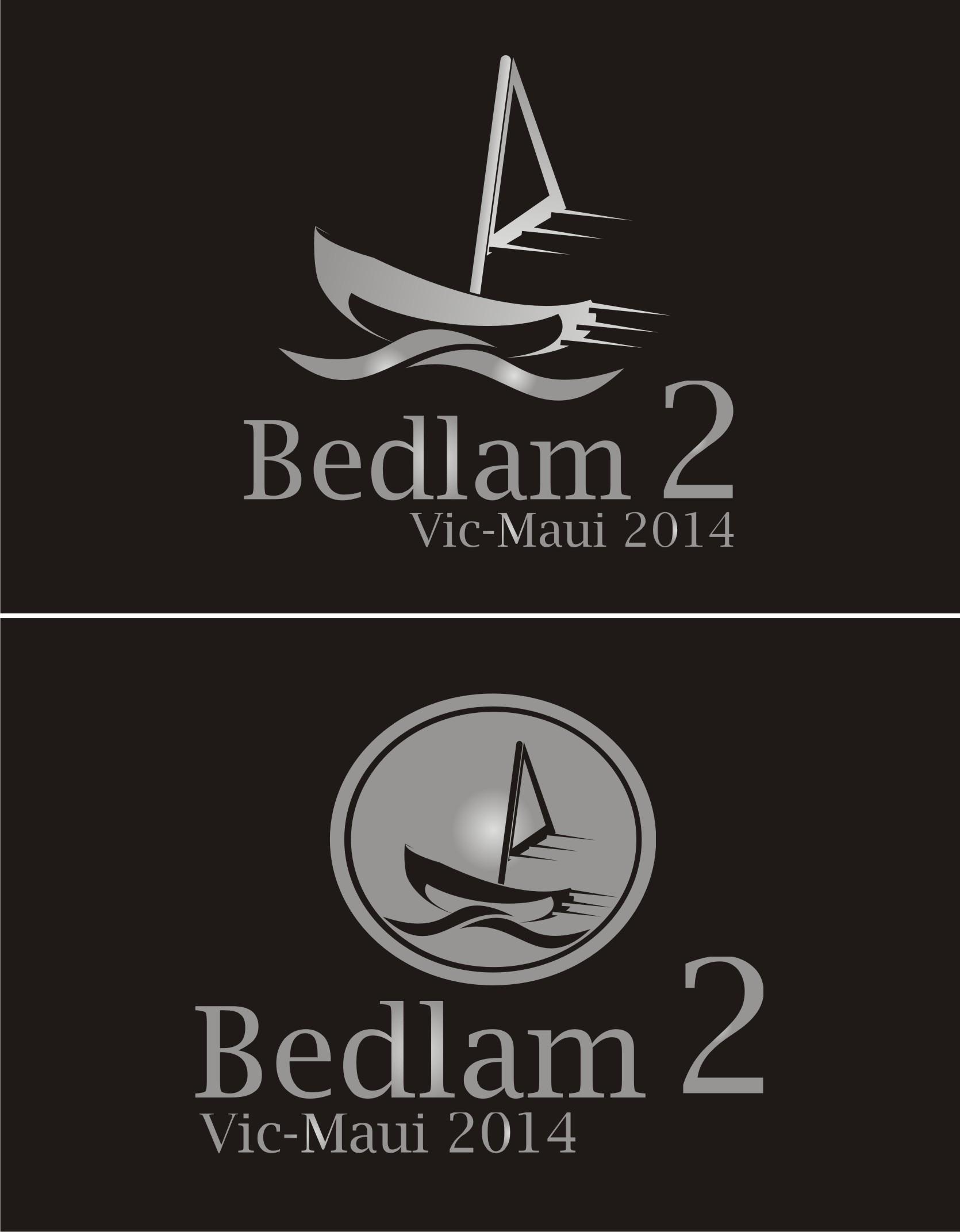 Logo Design by Yuda Hermawan - Entry No. 36 in the Logo Design Contest Artistic Logo Design for Bedlam 2  Vic-Maui 2014.