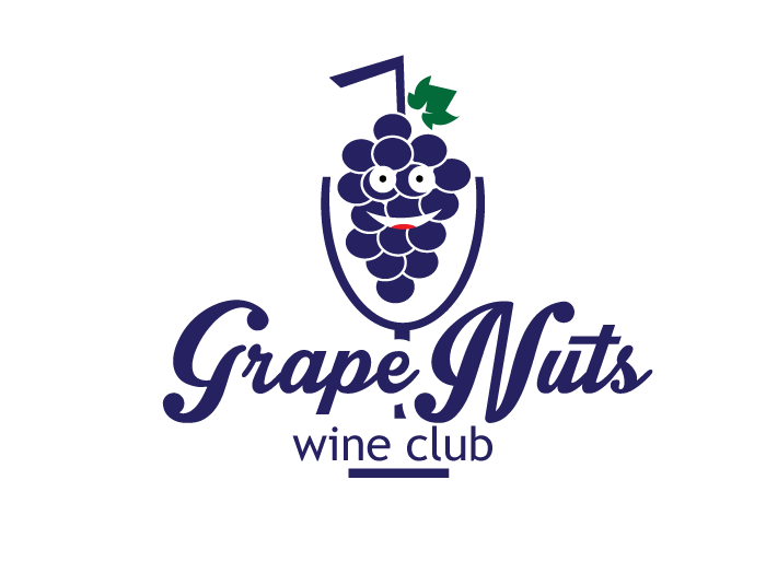 Logo Design by Jan Chua - Entry No. 74 in the Logo Design Contest Artistic Logo Design for Grape Nuts Wine Club.