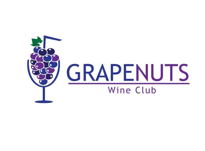 Logo Design by Jan Chua - Entry No. 75 in the Logo Design Contest Artistic Logo Design for Grape Nuts Wine Club.