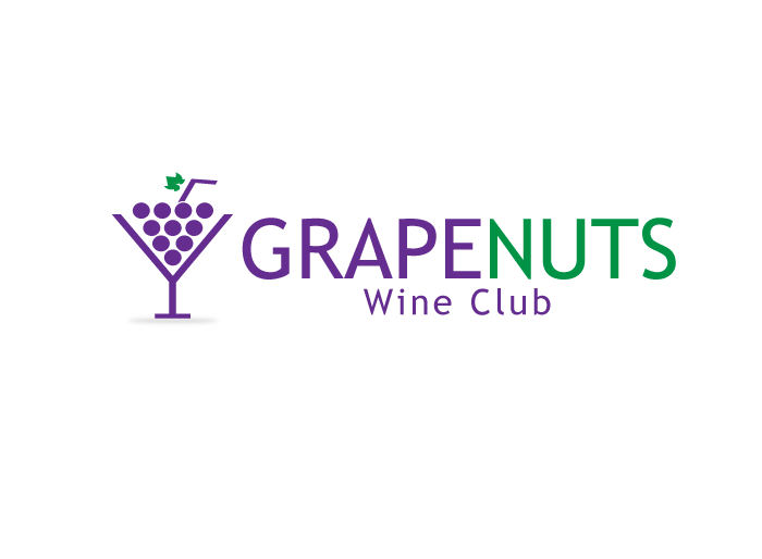 Logo Design by Jan Chua - Entry No. 76 in the Logo Design Contest Artistic Logo Design for Grape Nuts Wine Club.