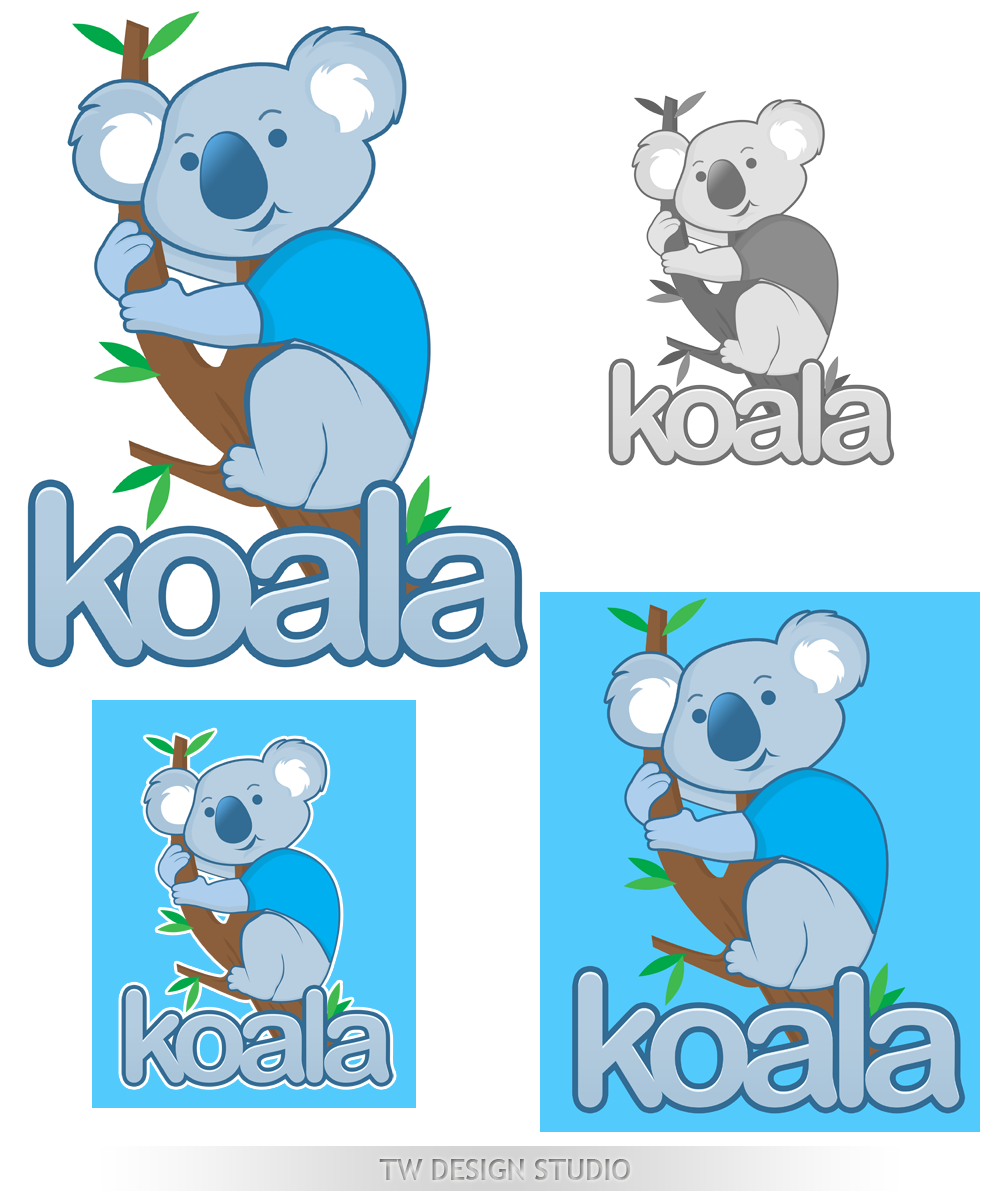 "Logo Design by Private User - Entry No. 80 in the Logo Design Contest Imaginative Logo Design for ""Koala""."