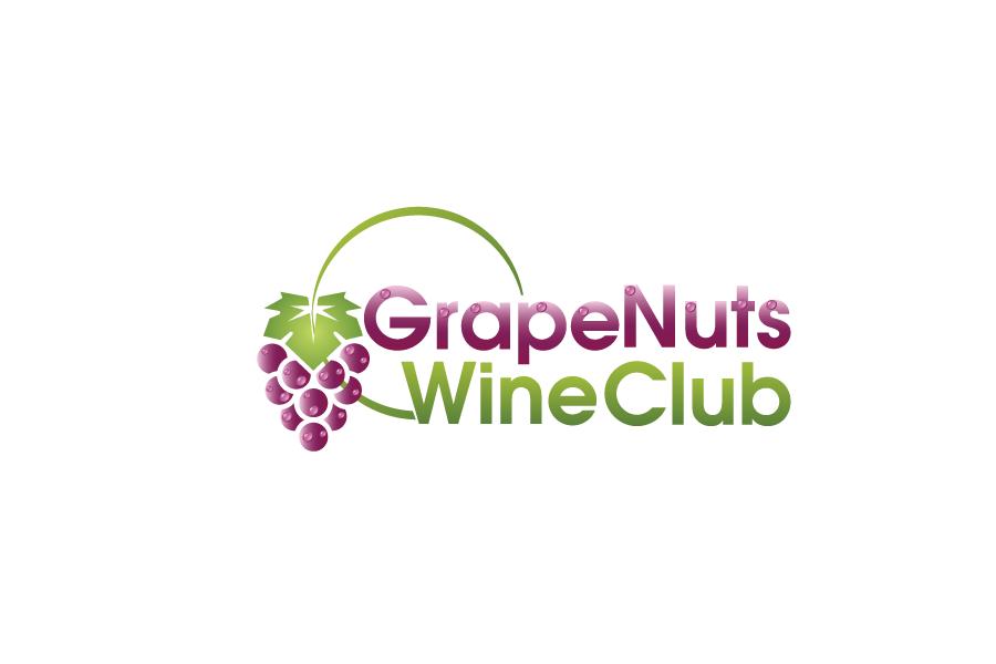 Logo Design by Private User - Entry No. 84 in the Logo Design Contest Artistic Logo Design for Grape Nuts Wine Club.