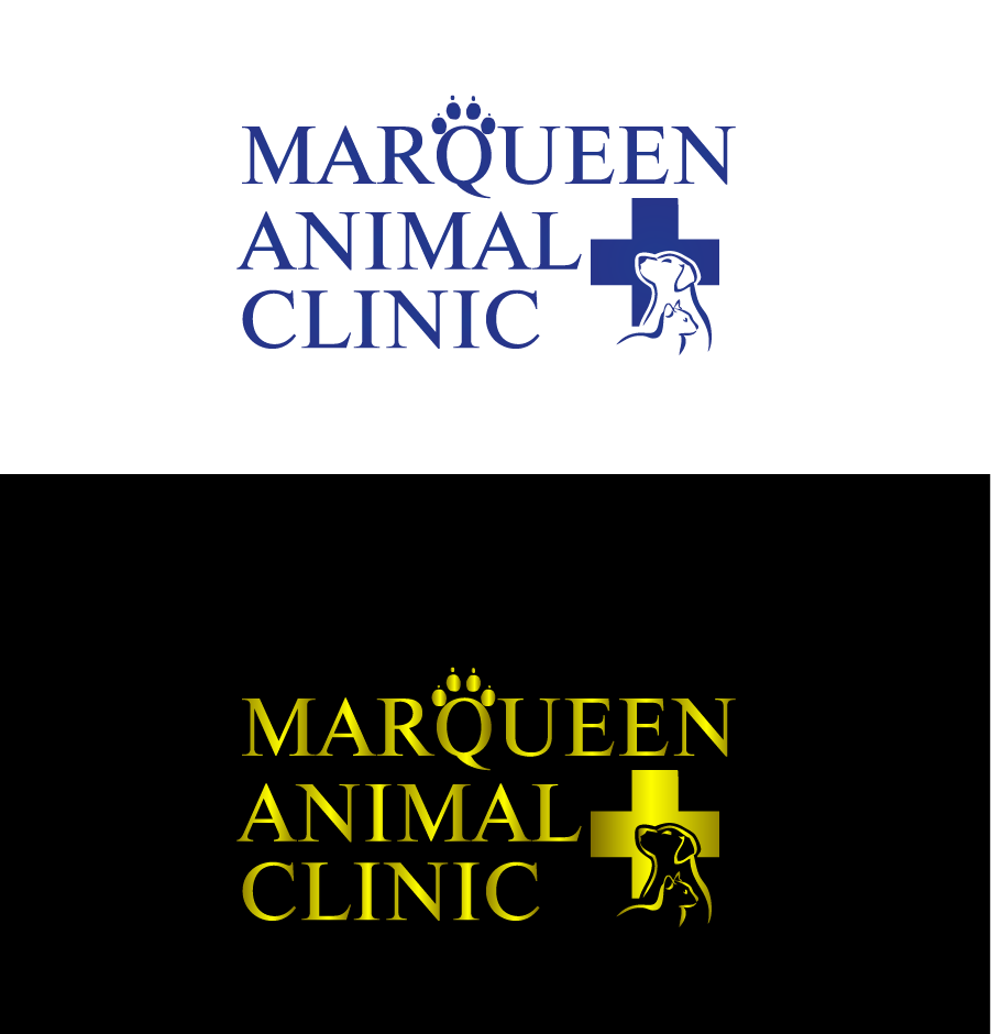 Logo Design by Private User - Entry No. 18 in the Logo Design Contest Fun Logo Design for MarQueen Animal Clinic.