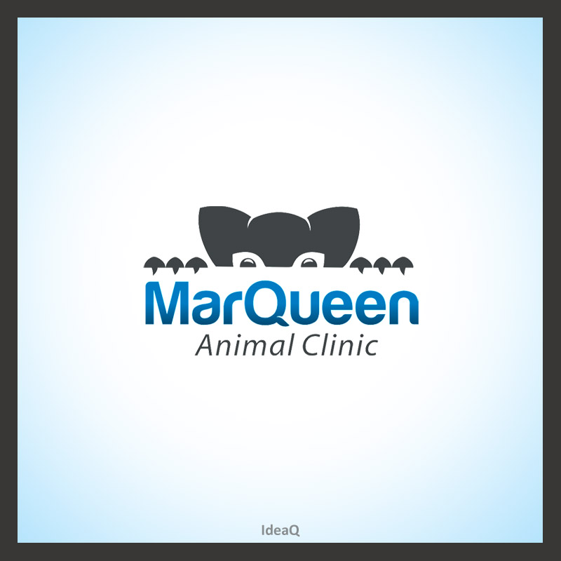 Logo Design by Private User - Entry No. 19 in the Logo Design Contest Fun Logo Design for MarQueen Animal Clinic.
