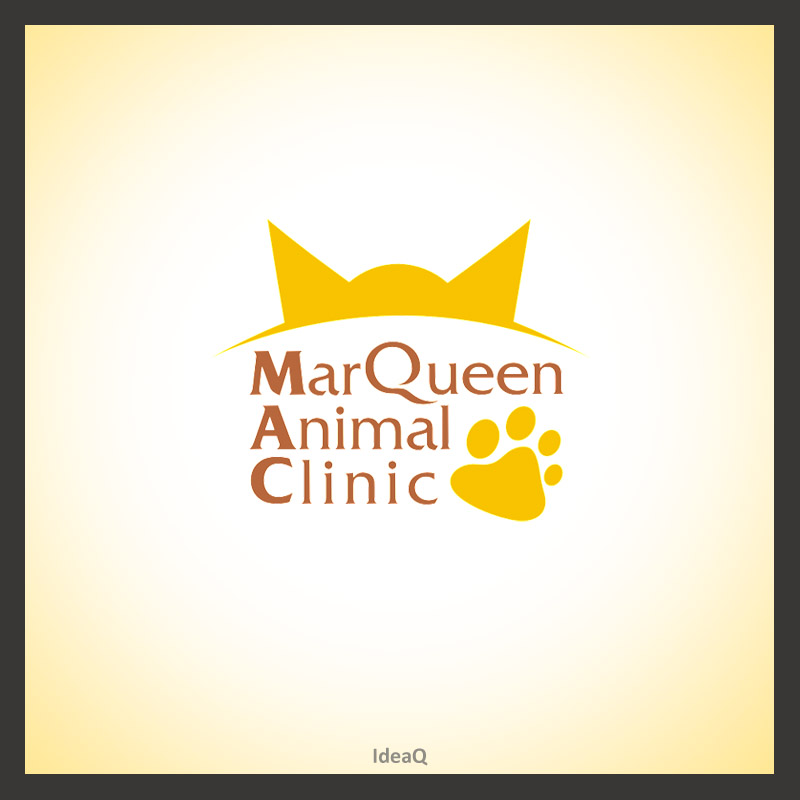 Logo Design by Private User - Entry No. 20 in the Logo Design Contest Fun Logo Design for MarQueen Animal Clinic.