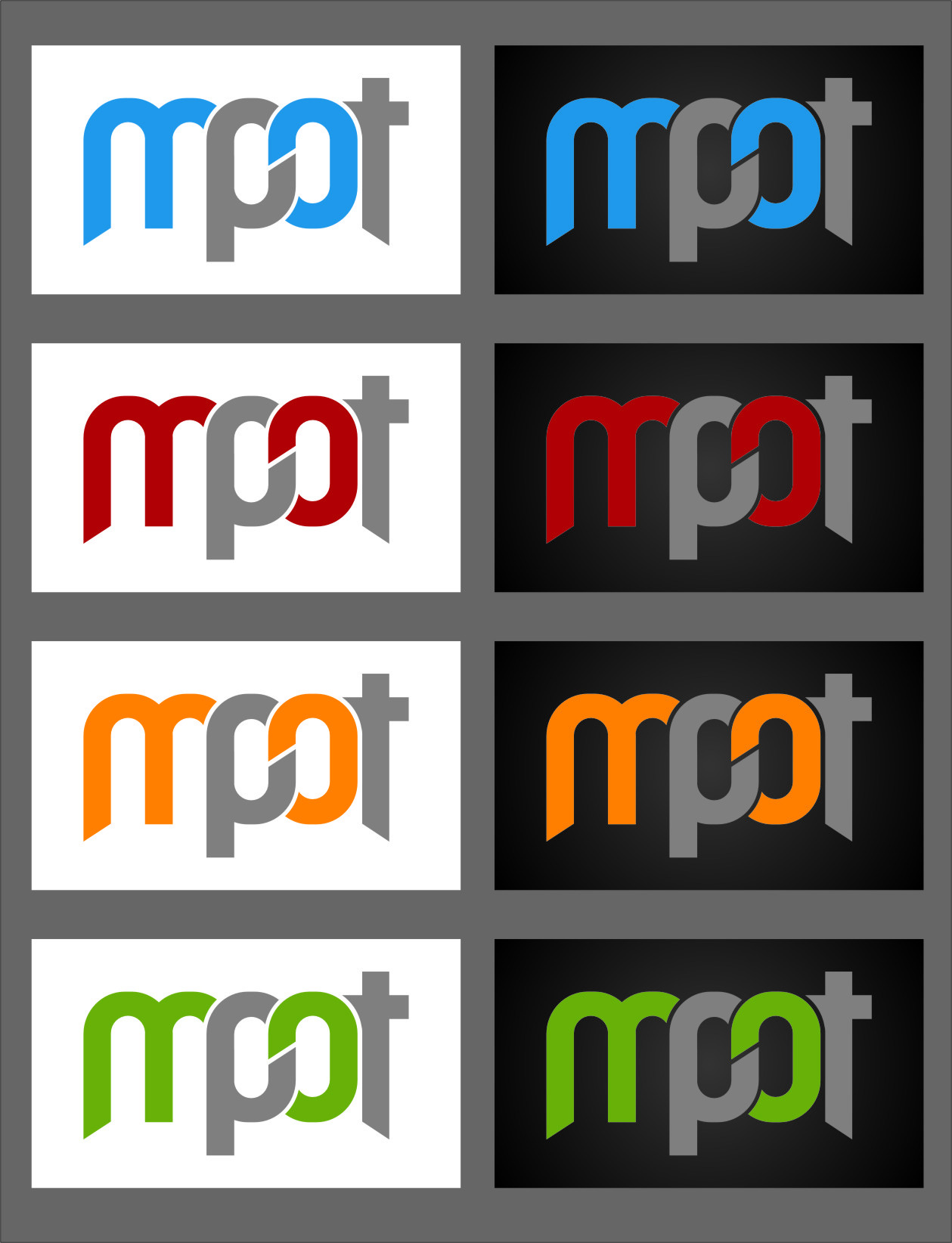 Logo Design by Ngepet_art - Entry No. 244 in the Logo Design Contest Mpot inc  Logo Design.