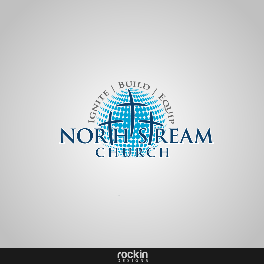 Logo Design by rockin - Entry No. 12 in the Logo Design Contest Creative Logo Design for North Stream Church.