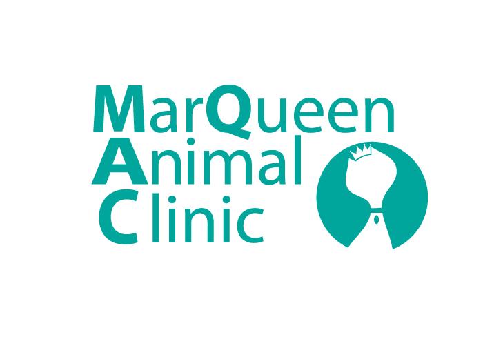 Logo Design by Jan Chua - Entry No. 21 in the Logo Design Contest Fun Logo Design for MarQueen Animal Clinic.