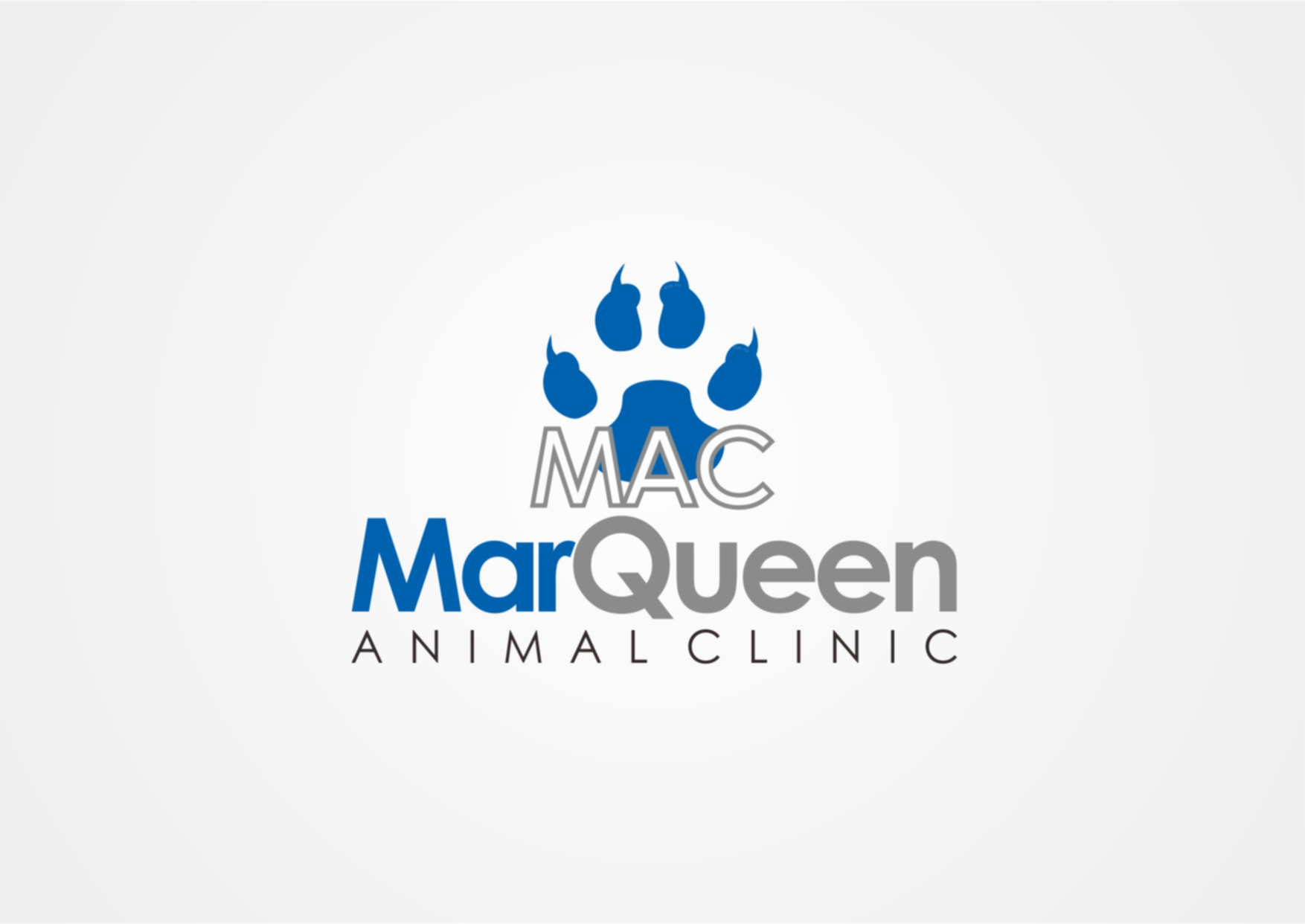 Logo Design by Private User - Entry No. 23 in the Logo Design Contest Fun Logo Design for MarQueen Animal Clinic.