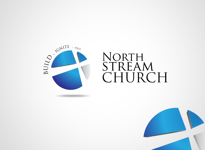 Logo Design by Jan Chua - Entry No. 14 in the Logo Design Contest Creative Logo Design for North Stream Church.