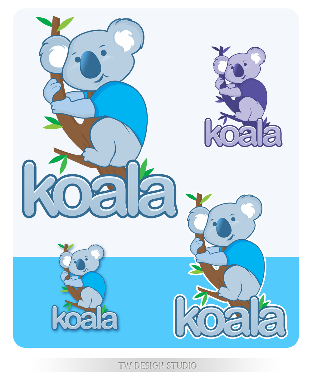 "Logo Design by Private User - Entry No. 82 in the Logo Design Contest Imaginative Logo Design for ""Koala""."