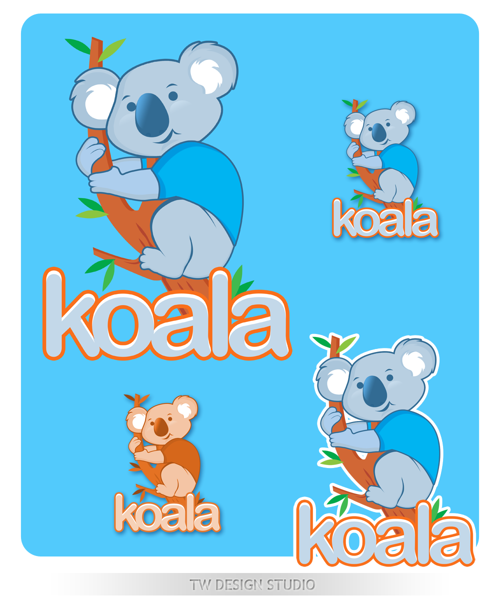 "Logo Design by Private User - Entry No. 83 in the Logo Design Contest Imaginative Logo Design for ""Koala""."