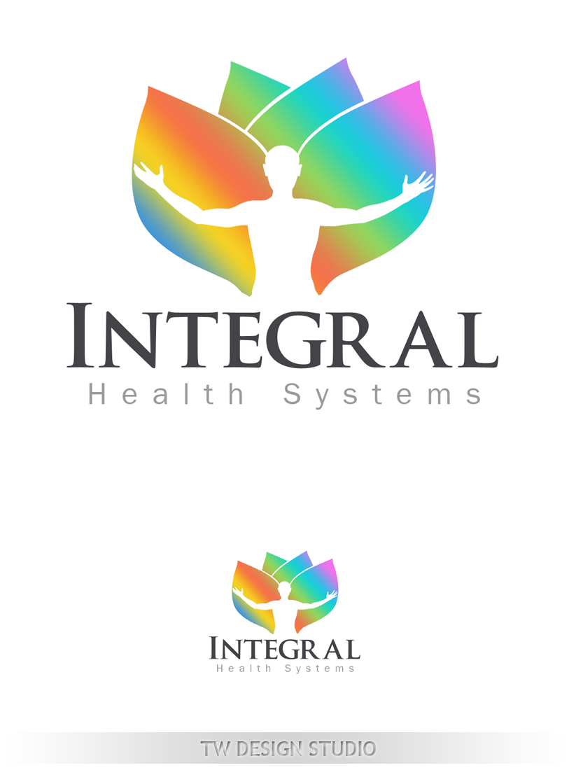 Logo Design by Private User - Entry No. 95 in the Logo Design Contest Unique Logo Design Wanted for Integral Health Systems.
