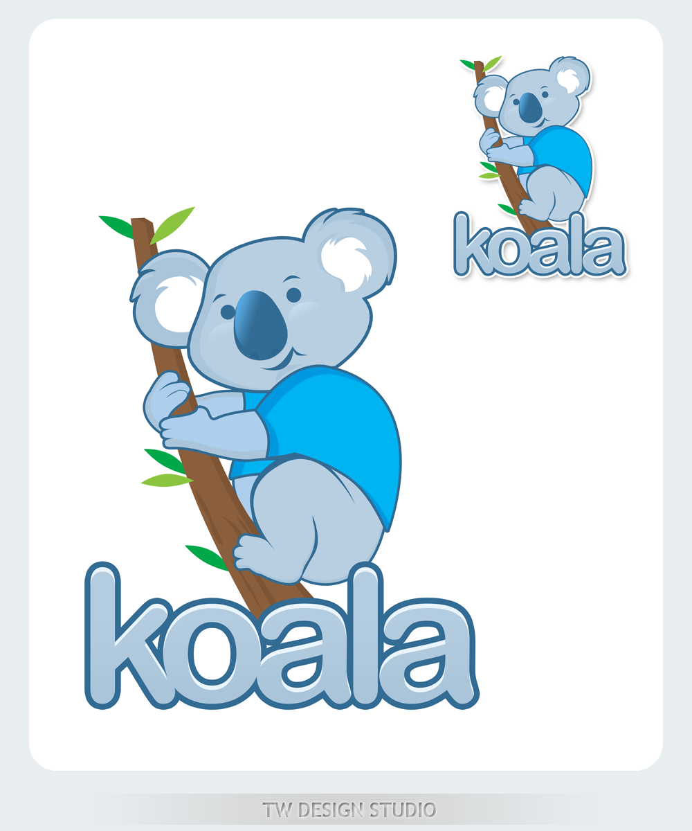 "Logo Design by Private User - Entry No. 84 in the Logo Design Contest Imaginative Logo Design for ""Koala""."