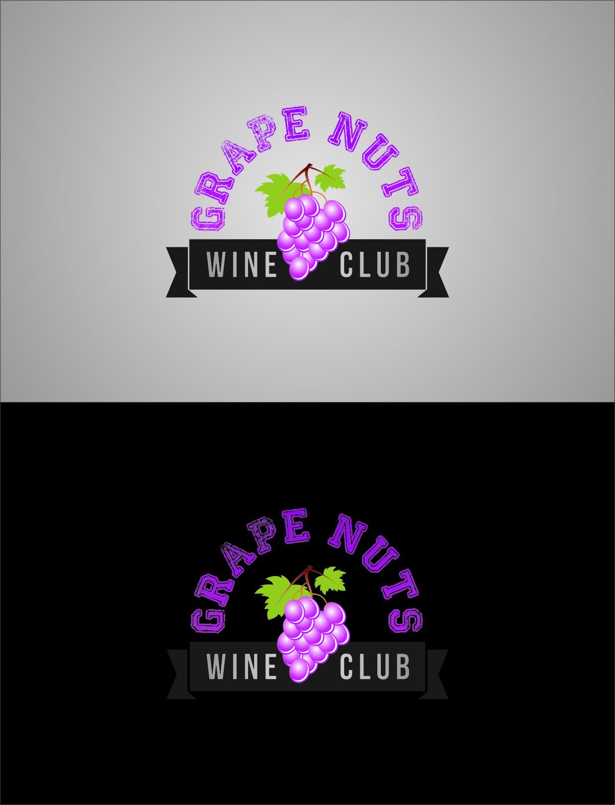 Logo Design by Ngepet_art - Entry No. 88 in the Logo Design Contest Artistic Logo Design for Grape Nuts Wine Club.