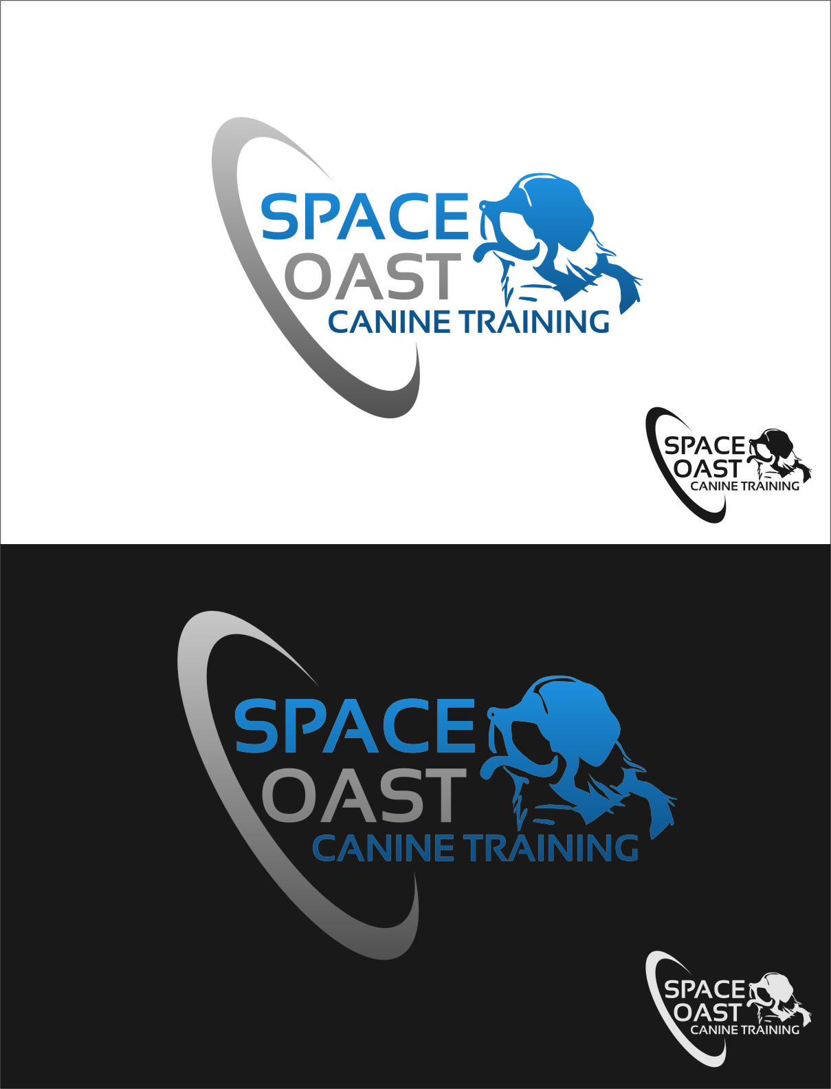 Logo Design by Ngepet_art - Entry No. 51 in the Logo Design Contest Creative Logo Design for Space Coast Canine Training.