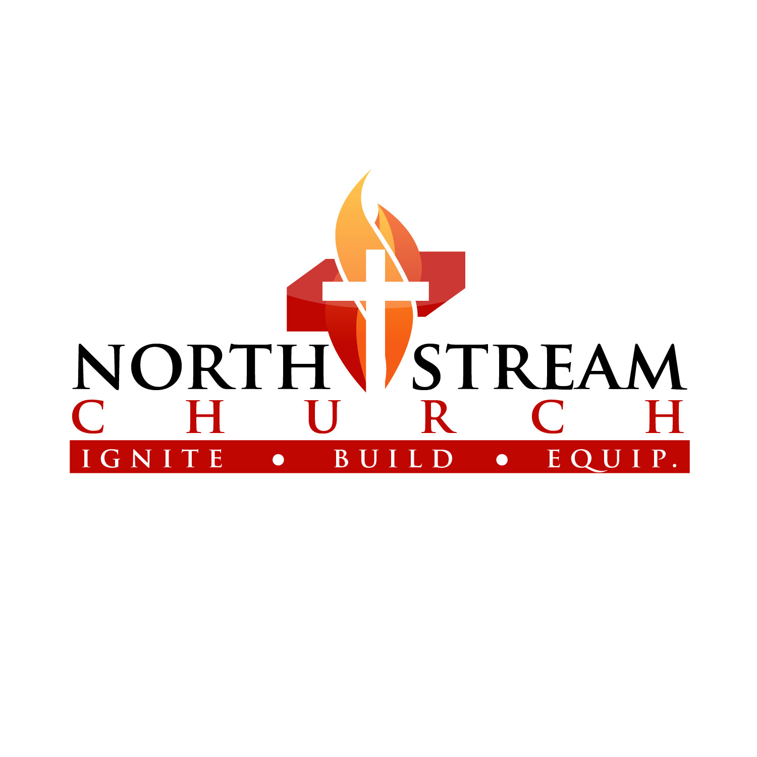 Logo Design by lagalag - Entry No. 17 in the Logo Design Contest Creative Logo Design for North Stream Church.