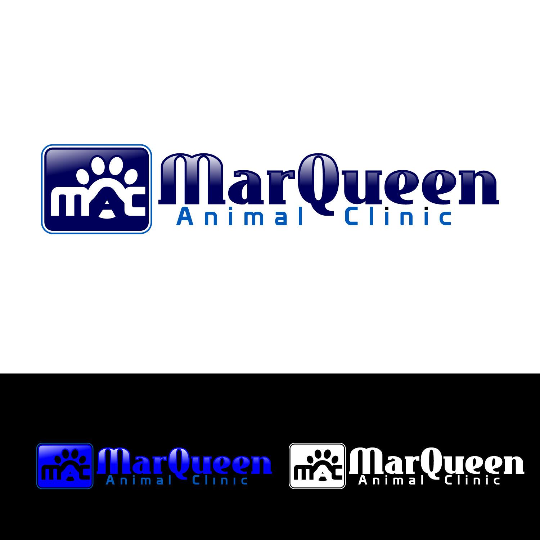 Logo Design by lagalag - Entry No. 28 in the Logo Design Contest Fun Logo Design for MarQueen Animal Clinic.