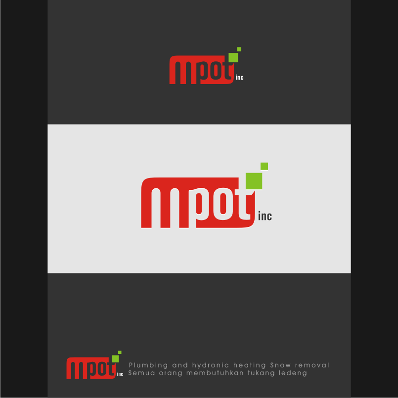 Logo Design by graphicleaf - Entry No. 254 in the Logo Design Contest Mpot inc  Logo Design.