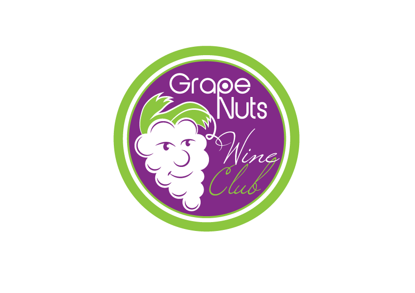 Logo Design by Severiano Fernandes - Entry No. 91 in the Logo Design Contest Artistic Logo Design for Grape Nuts Wine Club.