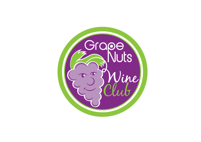 Logo Design by Severiano Fernandes - Entry No. 92 in the Logo Design Contest Artistic Logo Design for Grape Nuts Wine Club.