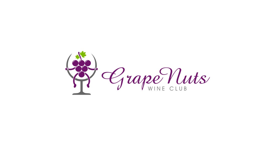 Logo Design by untung - Entry No. 93 in the Logo Design Contest Artistic Logo Design for Grape Nuts Wine Club.
