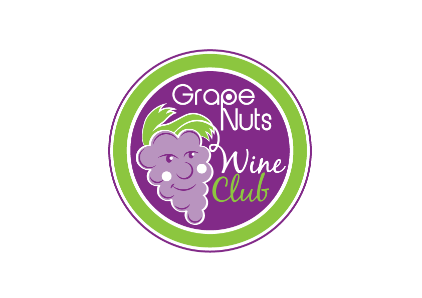 Logo Design by Severiano Fernandes - Entry No. 94 in the Logo Design Contest Artistic Logo Design for Grape Nuts Wine Club.