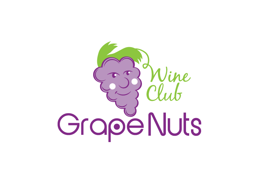 Logo Design by Severiano Fernandes - Entry No. 95 in the Logo Design Contest Artistic Logo Design for Grape Nuts Wine Club.