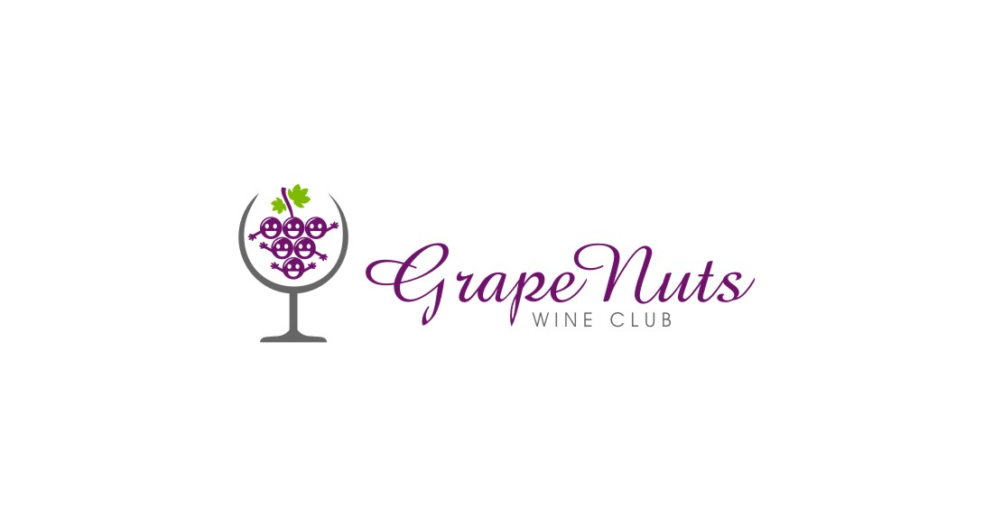 Logo Design by untung - Entry No. 101 in the Logo Design Contest Artistic Logo Design for Grape Nuts Wine Club.