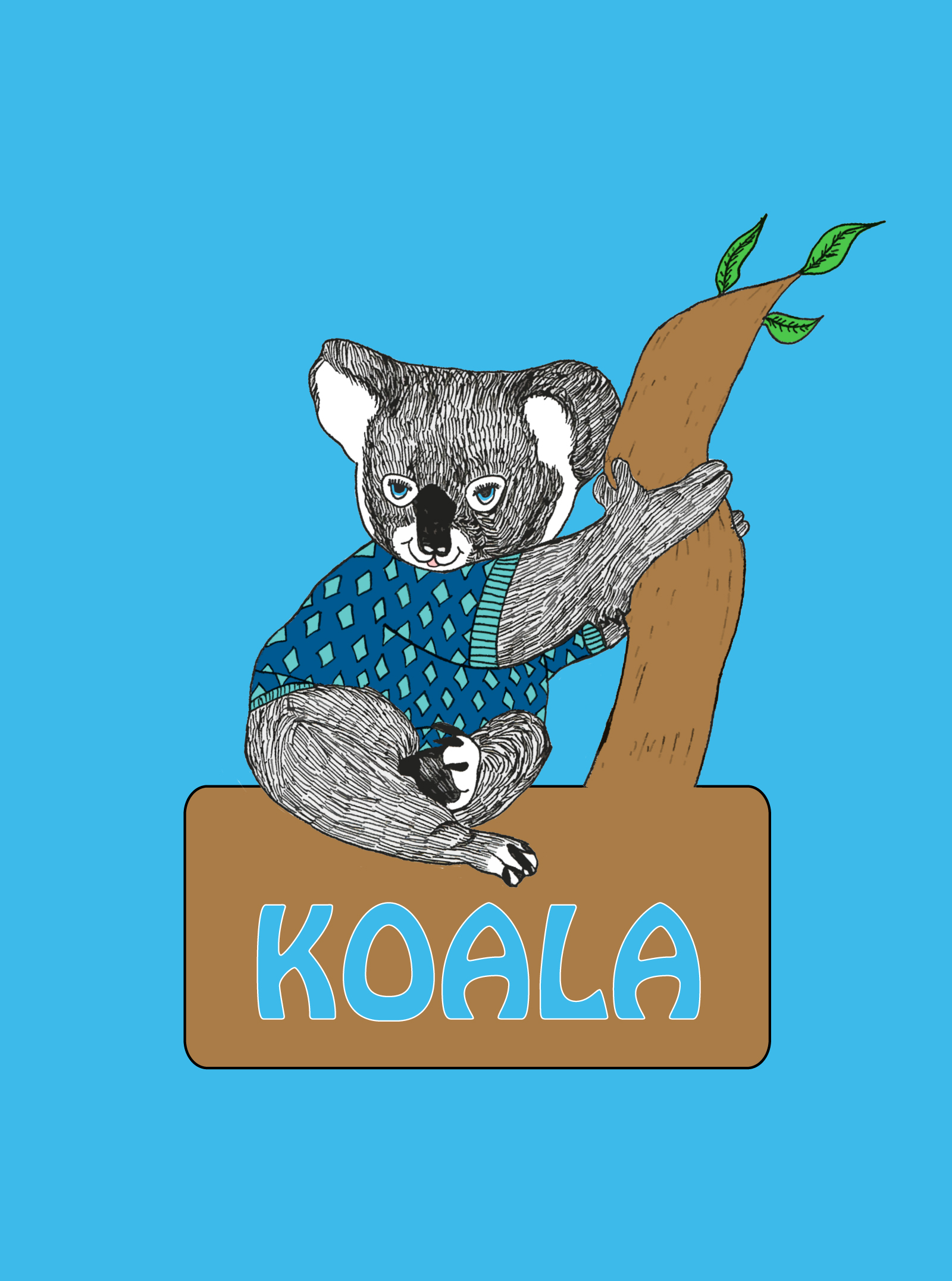 "Logo Design by Elinor Weiss - Entry No. 85 in the Logo Design Contest Imaginative Logo Design for ""Koala""."