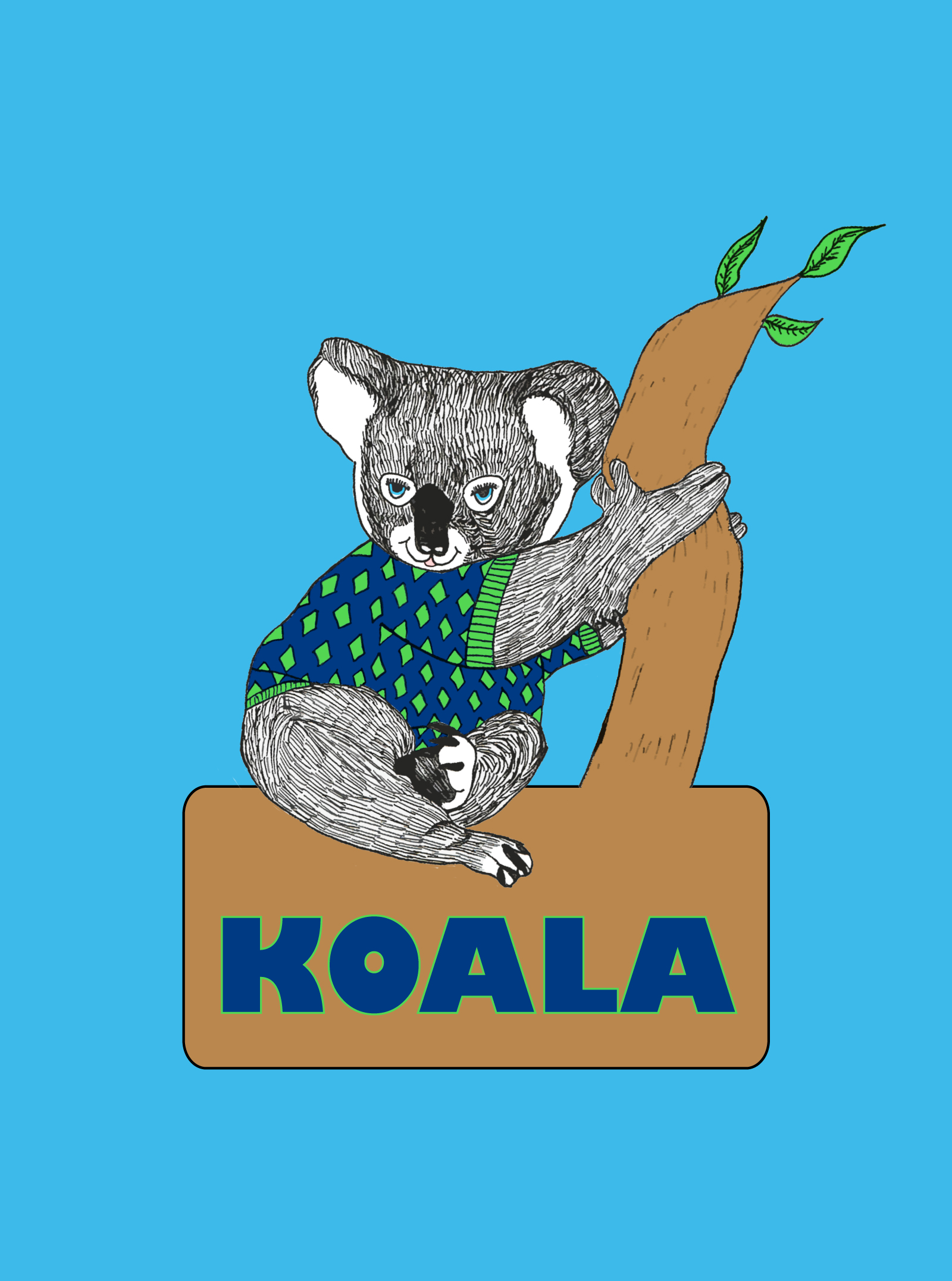 "Logo Design by Elinor Weiss - Entry No. 86 in the Logo Design Contest Imaginative Logo Design for ""Koala""."