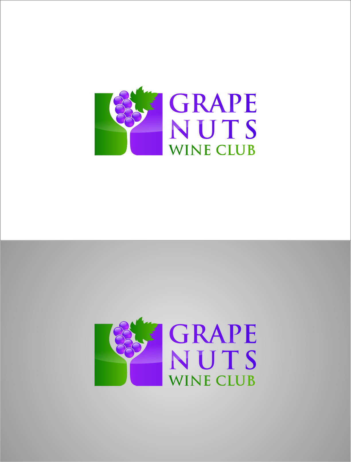 Logo Design by RoSyid Rono-Rene On Java - Entry No. 103 in the Logo Design Contest Artistic Logo Design for Grape Nuts Wine Club.