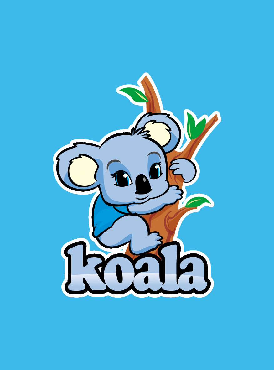 "Logo Design by Respati Himawan - Entry No. 88 in the Logo Design Contest Imaginative Logo Design for ""Koala""."