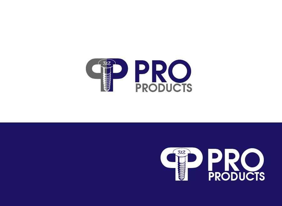 Logo Design by Private User - Entry No. 85 in the Logo Design Contest Fun yet Professional Logo Design for ProProducts.
