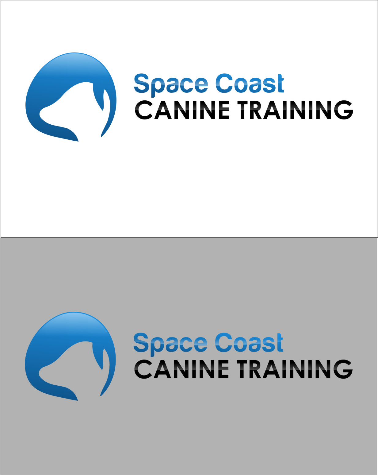 Logo Design by RasYa Muhammad Athaya - Entry No. 58 in the Logo Design Contest Creative Logo Design for Space Coast Canine Training.