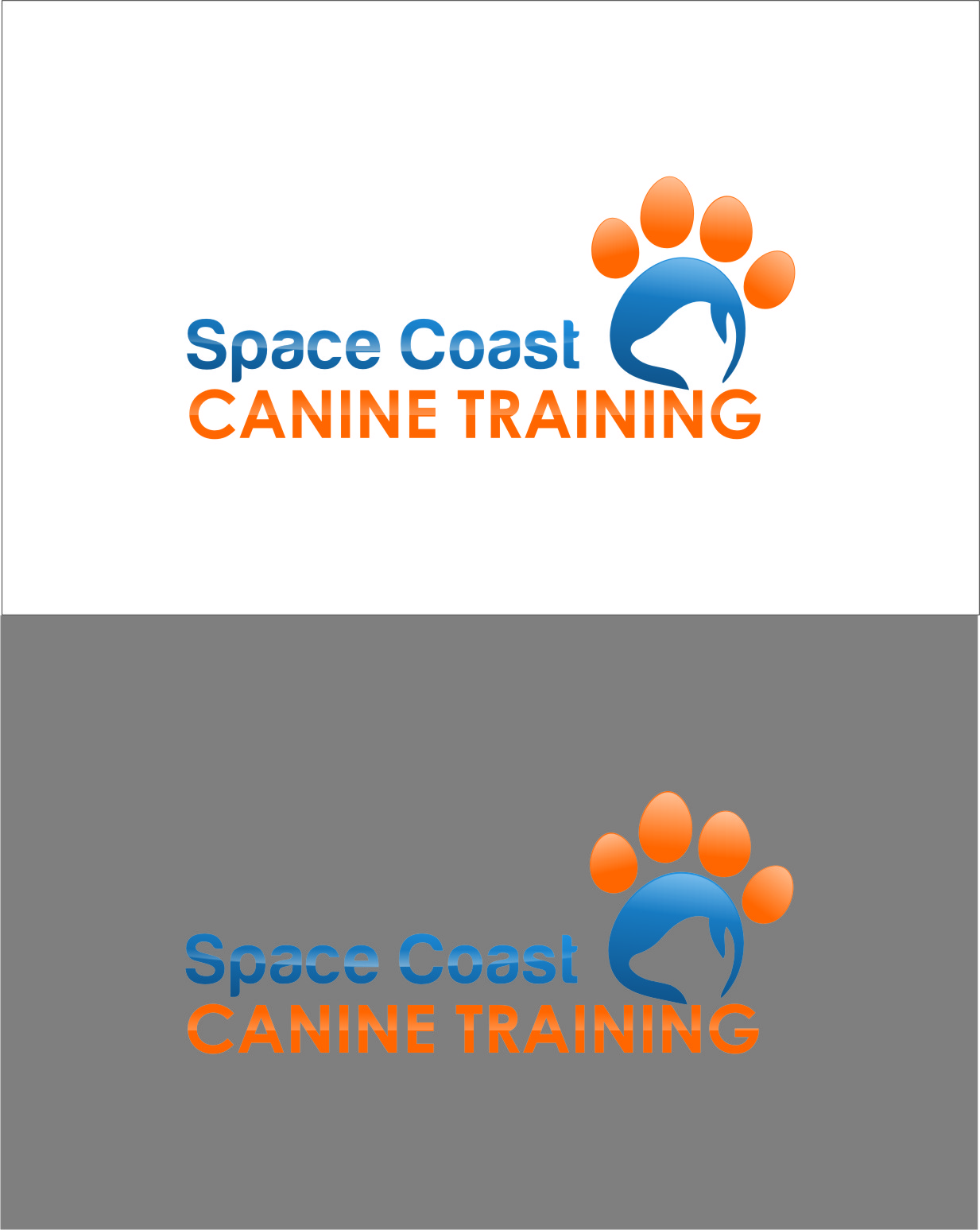 Logo Design by Ngepet_art - Entry No. 59 in the Logo Design Contest Creative Logo Design for Space Coast Canine Training.