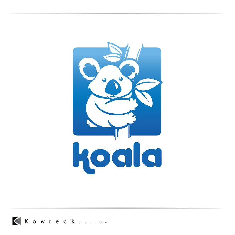 "Logo Design by kowreck - Entry No. 96 in the Logo Design Contest Imaginative Logo Design for ""Koala""."