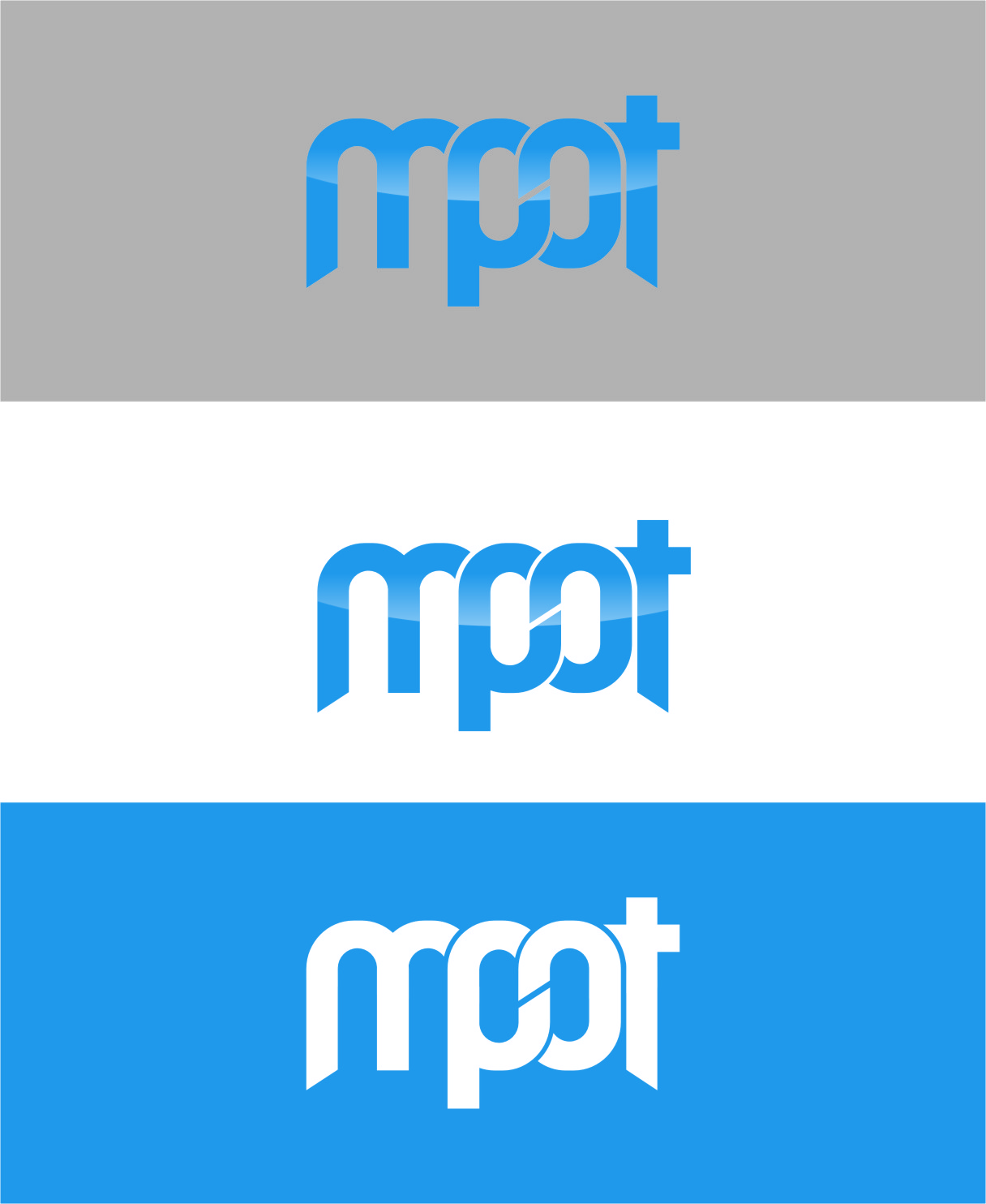 Logo Design by RasYa Muhammad Athaya - Entry No. 267 in the Logo Design Contest Mpot inc  Logo Design.